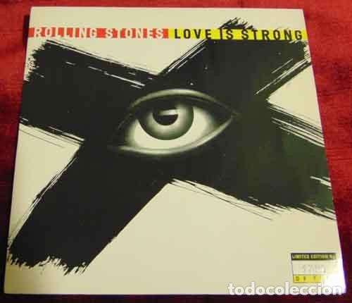 ROLLING STONES – LOVE IS STRONG - SINGLE EDICION LIMITADA (Música - Discos - Singles Vinilo - Pop - Rock Extranjero de los 90 a la actualidad)