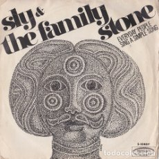 Discos de vinilo: EVERYDAY PEOPLE / SING A SIMPLE SONG - SLY & THE FAMILY STONE. Lote 181333565