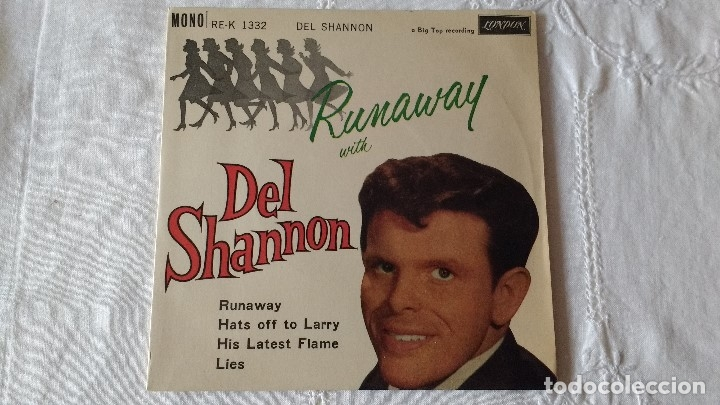 EP DEL CANTANTE NORTEAMERICANO DE ROCK AND ROLL, DEL SHANNON. UK FIRST PRESS ( AÑO 1962) (Música - Discos de Vinilo - EPs - Rock & Roll)