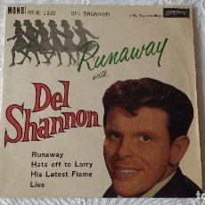 Discos de vinilo: EP DEL CANTANTE NORTEAMERICANO DE ROCK AND ROLL, DEL SHANNON. UK FIRST PRESS ( AÑO 1962) . Lote 182855237