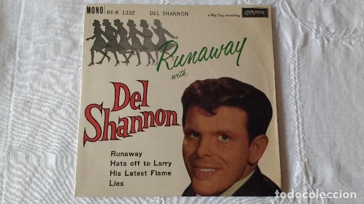 Discos de vinilo: EP DEL CANTANTE NORTEAMERICANO DE ROCK AND ROLL, DEL SHANNON. UK FIRST PRESS ( AÑO 1962) - Foto 2 - 182855237