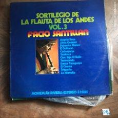 Discos de vinilo: SORTILEGIO DE LA FLAUTA DE LOS ANDES. Lote 182856326