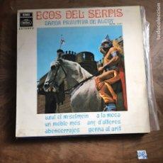 Discos de vinilo: ECOS DE SERPIS. Lote 182856373