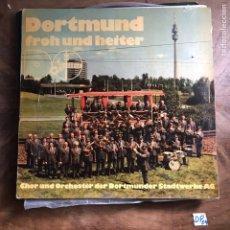 Discos de vinilo: DORTMUND - FROH UND HEITER. Lote 182856632