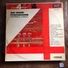 Discos de vinilo: BIG BAND - PERCUSSION. Lote 182856712