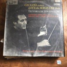 Discos de vinilo: VICTORIA DE LOS ÁNGELES. Lote 182857180