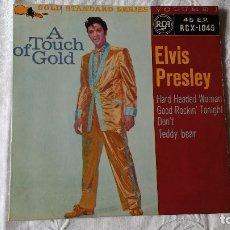 Discos de vinilo: EP DEL CANTANTE NORTEAMERICANO DE ROCK AND ROLL, ELVIS PRESLEY . UK FIRST PRESS ( AÑO 1959). Lote 182857392