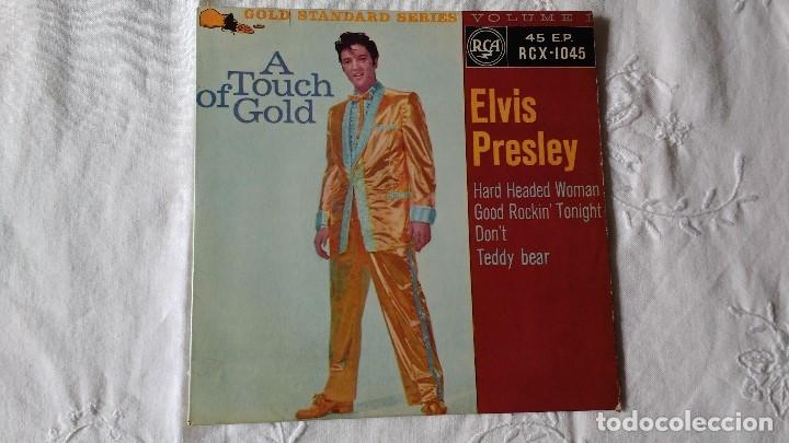 Discos de vinilo: EP DEL CANTANTE NORTEAMERICANO DE ROCK AND ROLL, ELVIS PRESLEY . UK FIRST PRESS ( AÑO 1959) - Foto 2 - 182857392