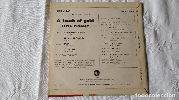 Discos de vinilo: EP DEL CANTANTE NORTEAMERICANO DE ROCK AND ROLL, ELVIS PRESLEY . UK FIRST PRESS ( AÑO 1959) - Foto 3 - 182857392