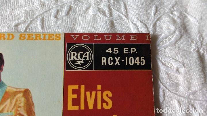 Discos de vinilo: EP DEL CANTANTE NORTEAMERICANO DE ROCK AND ROLL, ELVIS PRESLEY . UK FIRST PRESS ( AÑO 1959) - Foto 4 - 182857392