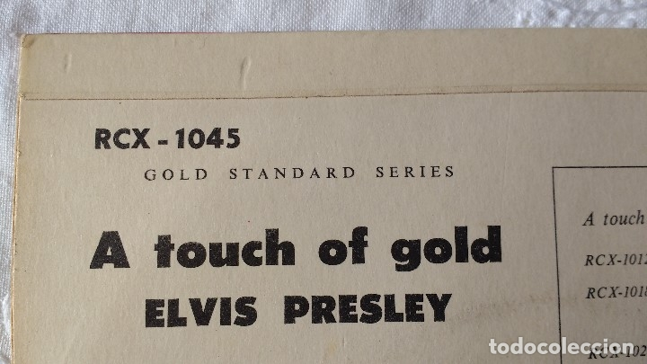Discos de vinilo: EP DEL CANTANTE NORTEAMERICANO DE ROCK AND ROLL, ELVIS PRESLEY . UK FIRST PRESS ( AÑO 1959) - Foto 5 - 182857392