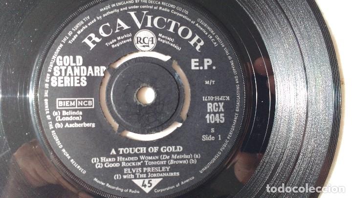 Discos de vinilo: EP DEL CANTANTE NORTEAMERICANO DE ROCK AND ROLL, ELVIS PRESLEY . UK FIRST PRESS ( AÑO 1959) - Foto 6 - 182857392