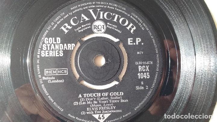 Discos de vinilo: EP DEL CANTANTE NORTEAMERICANO DE ROCK AND ROLL, ELVIS PRESLEY . UK FIRST PRESS ( AÑO 1959) - Foto 7 - 182857392