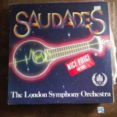 Discos de vinilo: SAUDADES. Lote 182857501