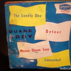 Discos de vinilo: DUANE EDDY- THE LONELY ONE. EP.. Lote 182857746