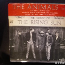 Discos de vinilo: THE ANIMALS- THE HOUSE OF THE RISING SUN. EP.. Lote 182857913