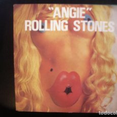 Discos de vinilo: THE ROLLING STONES- ANGIE. SINGLE.. Lote 182858105