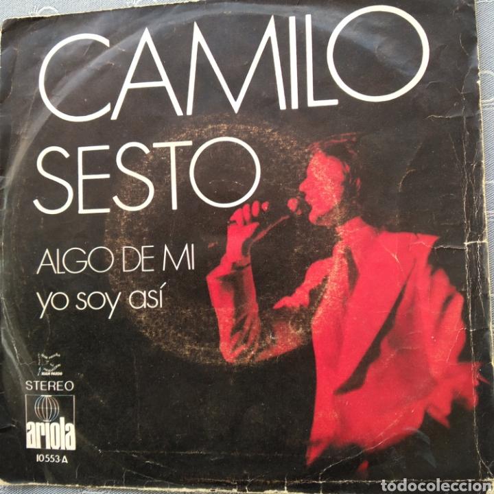 CAMILO SEXTO ALGO DE MI (Música - Discos - Singles Vinilo - Flamenco, Canción española y Cuplé)