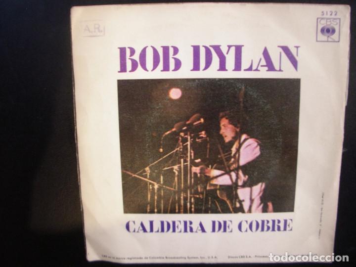 Discos de vinilo: BOB DYLAN- WIGWAM. SINGLE. - Foto 2 - 182861157