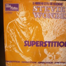 Discos de vinilo: STEVIE WONDER- SUPERSTITION. SINGLE.. Lote 182862442