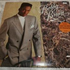 Discos de vinilo: BOBBY BROWN. DON'T BE CRUEL.. Lote 182862446
