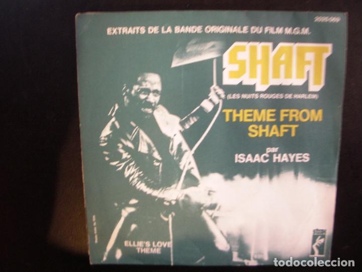 ISAAC HAYES- SHAFT. SINGLE. (Música - Discos - Singles Vinilo - Funk, Soul y Black Music)