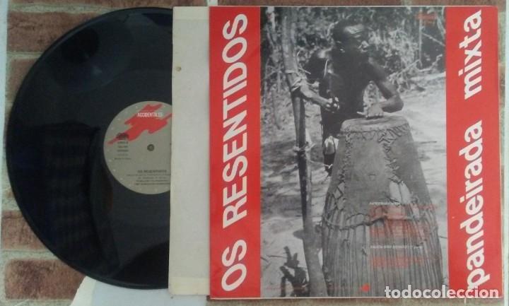 Discos de vinilo: OS RESENTIDOS PANDEIRADA MIXTA GASA 1987 - Foto 2 - 182863927