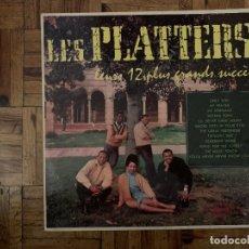 Discos de vinilo: LES PLATTERS* – LEURS 12 PLUS GRANDS SUCCÈS SELLO: MERCURY – 6338 056 FORMATO: VINYL, LP, COMPILA. Lote 182864067