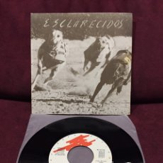 """Discos de vinilo: ESCLARECIDOS - PÁNICO EN LA CONVENCIÓN, EP 7"""", 1982, ESPAÑA. Lote 182867797"""