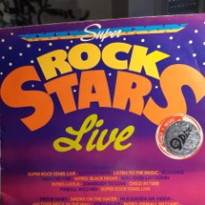 Discos de vinilo: SÚPER ROCK STARS LIVE-MEDLEY/DANCE ALL NIGHT. Lote 182870686
