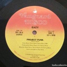 Discos de vinilo: EAZY / PROJECT FUNK / MAXI-SINGLE 12 INCH. Lote 182870852