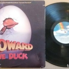 Discos de vinilo: HOWARD THE DUCK (MUSIC FROM THE MOTION PICTURE SOUNDTRACK) / LP. Lote 182871303