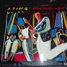 Discos de vinilo: STING BRNG ON THE NIGHT -DOBLE LP. Lote 182871947