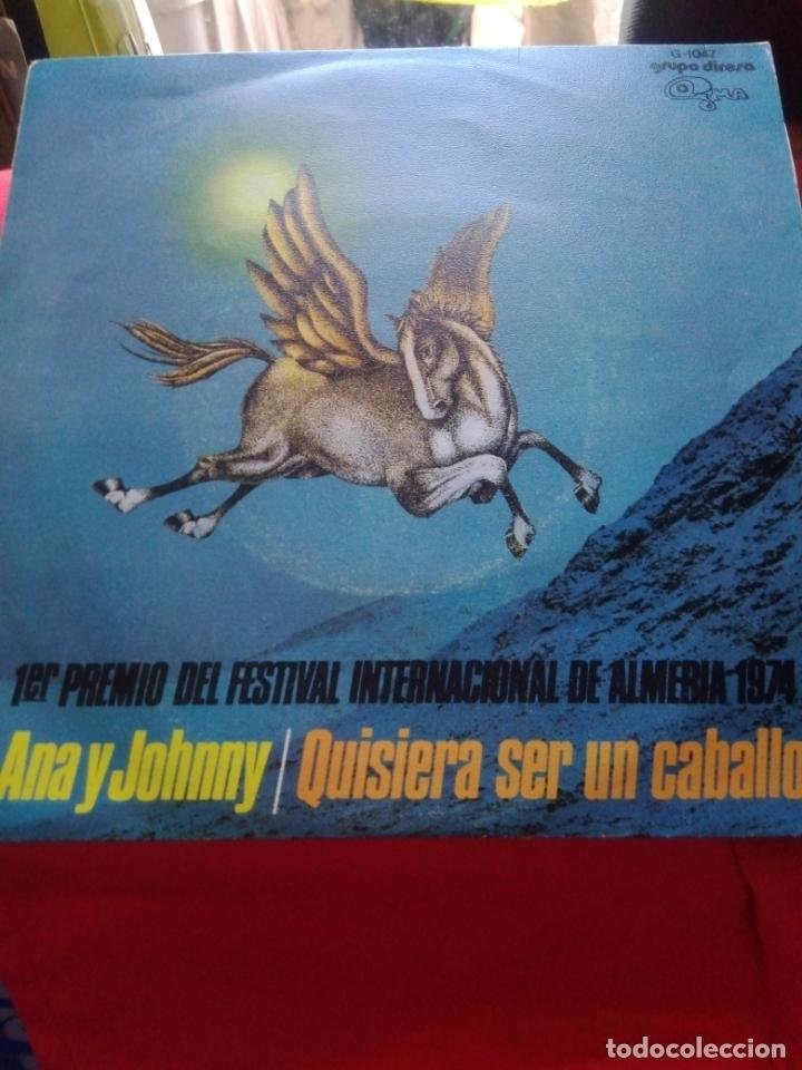 ANA Y JOHNNY -QUIERO SER UN CABALLO - (Música - Discos de Vinilo - EPs - Grupos Españoles de los 70 y 80)