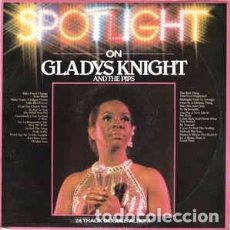 Discos de vinilo: GLADYS KNIGHT AND THE PIPS - SPOTLIGHT ON GLADYS KNIGHT AND THE PIPS (2XLP, COMP) LABEL:BUDDAH RECO. Lote 182873721