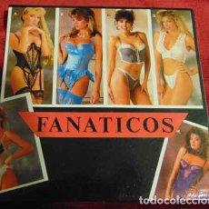 Discos de vinilo: FANÁTICOS – ARRANCO MI MOTOR - EP 1989 - PORTADA GATEFOLD. Lote 182874282