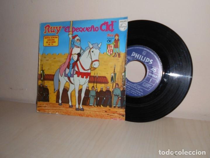 RUY -EL PEQUEÑO CID - BANDA SONORA ORIGINAL DE LA SERIE DE TV-PHILIPS - 1980 MADRID (Música - Discos - Singles Vinilo - Música Infantil)