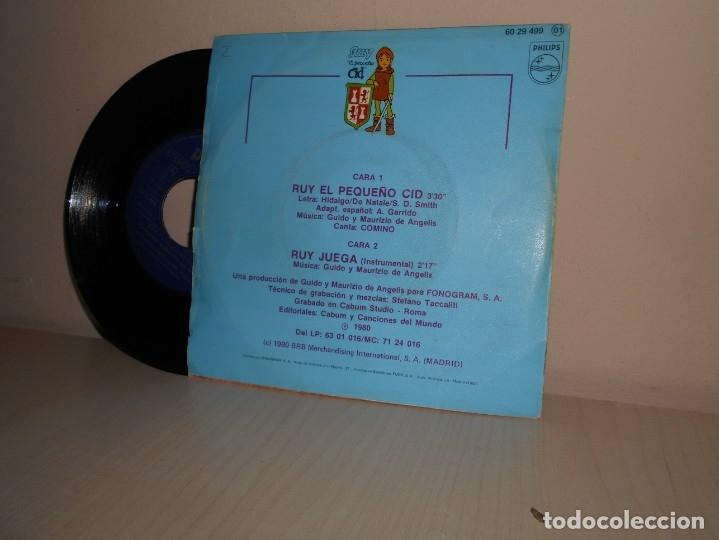 Discos de vinilo: RUY -EL PEQUEÑO CID - BANDA SONORA ORIGINAL DE LA SERIE DE TV-PHILIPS - 1980 MADRID - Foto 2 - 182875355