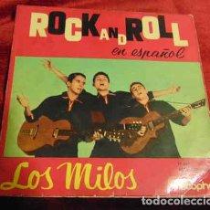 Discos de vinilo: LOS MILOS – TEDDY GIRL + 3 - EP 1960. Lote 182875656