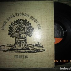 Discos de vinilo: TRAFFIC - JOHN BARLEYCORN MUST DIE LP - ORIGINAL U.S.A. - UNITED ARTISTS 1970 - GATEFOLD COVER -. Lote 182877243