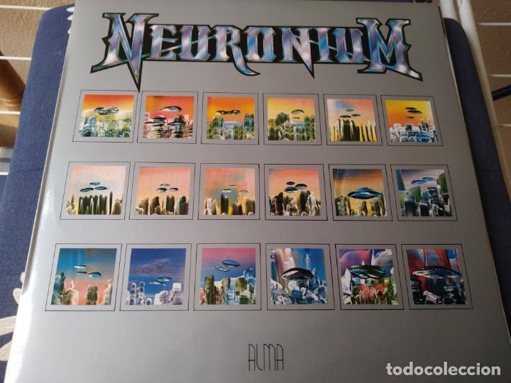 NEURONIUM.ALMA.MICHEL HUYGEN.LP (Música - Discos - Singles Vinilo - Electrónica, Avantgarde y Experimental)