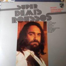 Discos de vinilo: DEMIS ROUSSOS.LP.SUPER DEMIS ROUSSOS.APHRODITES CHILD. Lote 182879565