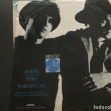Discos de vinilo: MINISTRY - REVENGE ( YOU DID IT AGAIN ) . Lote 182879796
