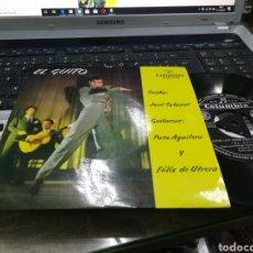 Discos de vinilo: EL GUITO SINGLE AQUEL QUE TIENE TRES VIÑAS JOSÉ SALAZAR 1963. Lote 182880956