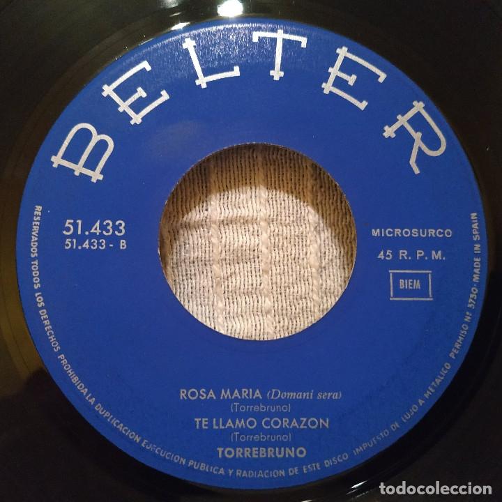 Discos de vinilo: Torrebruno - No, no me casaré + 3 - Ep español del año 1964 - Belter 51.433 muy raro, en buen estado - Foto 4 - 182883117