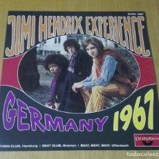 Disques de vinyle: JIMY HENDRIX - EXPERIENCE. GERMANY 1967 (LP REEDICIÓN) NUEVO. Lote 182883678