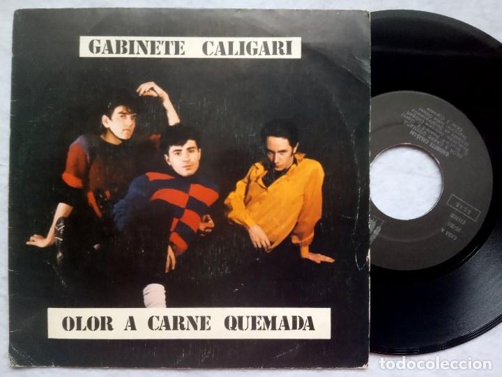 GABINETE CALIGARI - OLOR A CARNE QUEMADA / COMO PERDIMOS BERLIN - SINGLE 1982 - 3 CIPRESSES (Música - Discos - Singles Vinilo - Grupos Españoles de los 70 y 80)