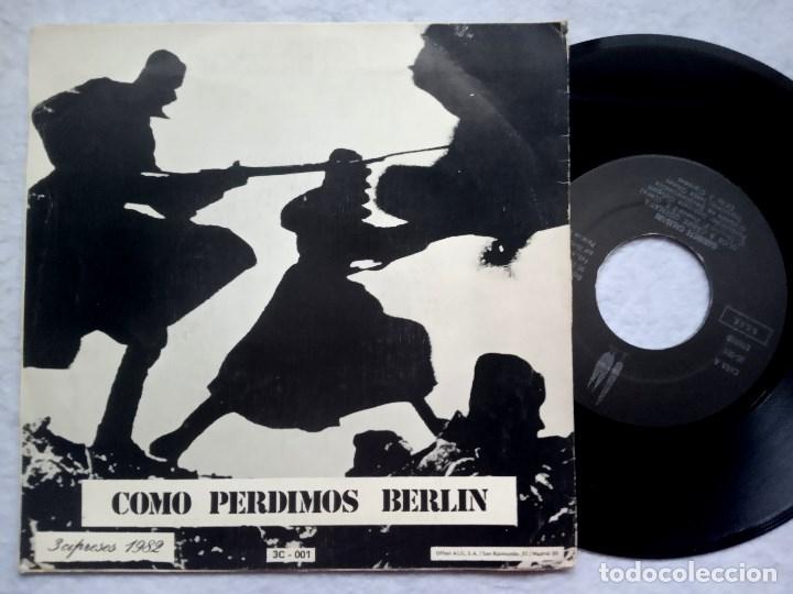 Discos de vinilo: GABINETE CALIGARI - olor a carne quemada / como perdimos berlin - SINGLE 1982 - 3 CIPRESSES - Foto 2 - 182884265