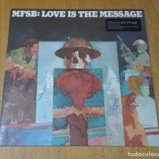 Discos de vinilo: MFSB - LOVE IS THE MESSAGE (LP 2014, MUSIC ON VINYL MOVLP1122) NUEVO Y PRECINTADO. Lote 182884475