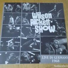 Discos de vinilo: WILSON PICKETT - LIVE IN GERMANY 1968 (LP WP1968) NUEVO Y PRECINTADO. Lote 182885328